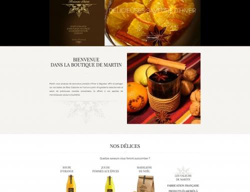 Site Locomartin / La boutique de Martin